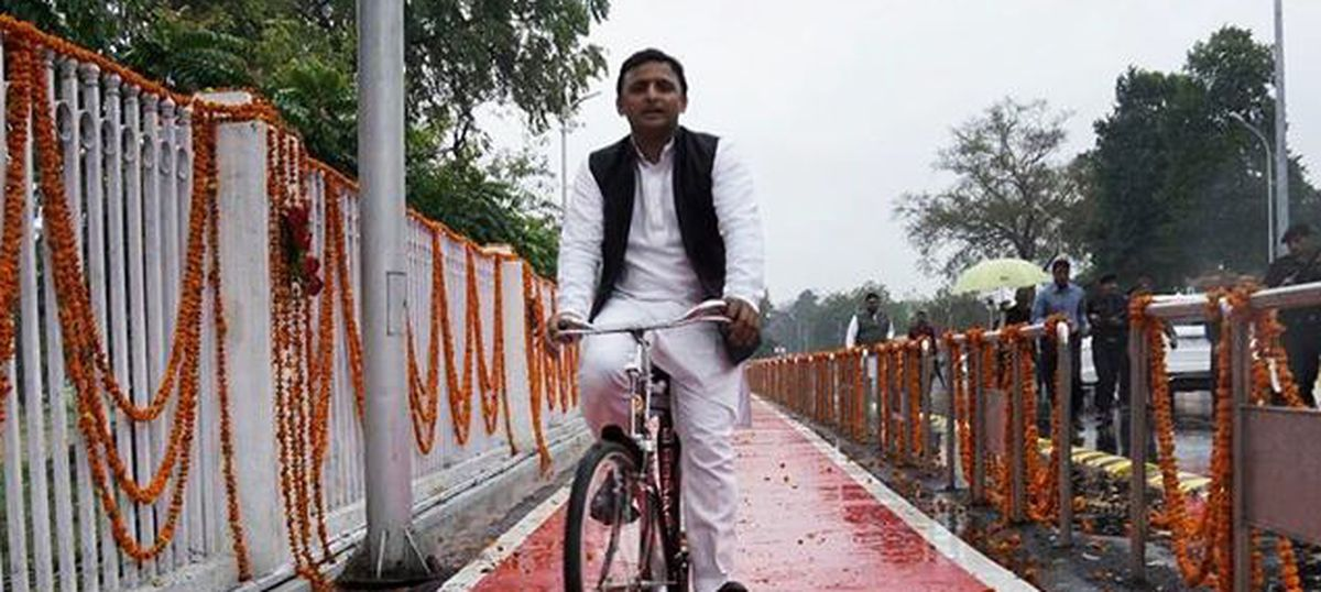 Two opinion polls suggest the Samajwadi Party is sturdier than expected in Uttar Pradesh
