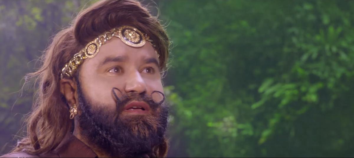 Gurmeet Ram Rahim Singh has 30 duties in his new movie. Can he also be the audience?