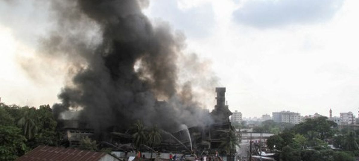 At least 24 dead in explosion at Bangladesh factory