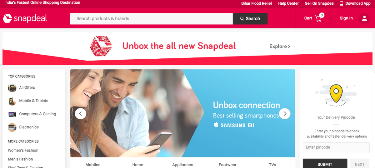 Snapdeal unveils new logo and tagline as part of rebranding efforts