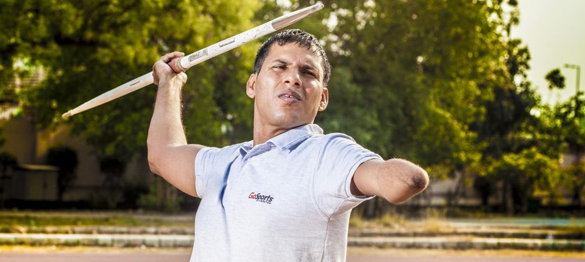 'He's the world record breaker!': Watch the throw that gave Devendra Jhajharia the Paralympics gold