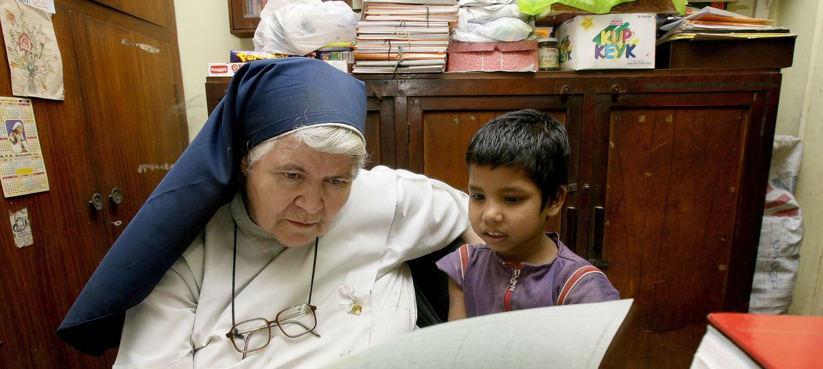 Sister Act: The nun in army boots who opened her heart and her school to Kolkata's street children