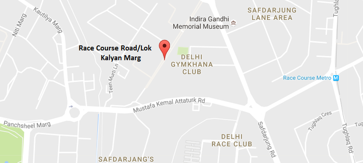 Delhi's Race Course Road, where the PM's house is located, has been renamed Lok Kalyan Marg