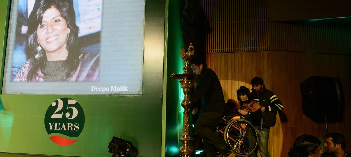 'Para-athletes like me aren't used to  attention.' Don't worry, Deepa Malik, we'll forget soon