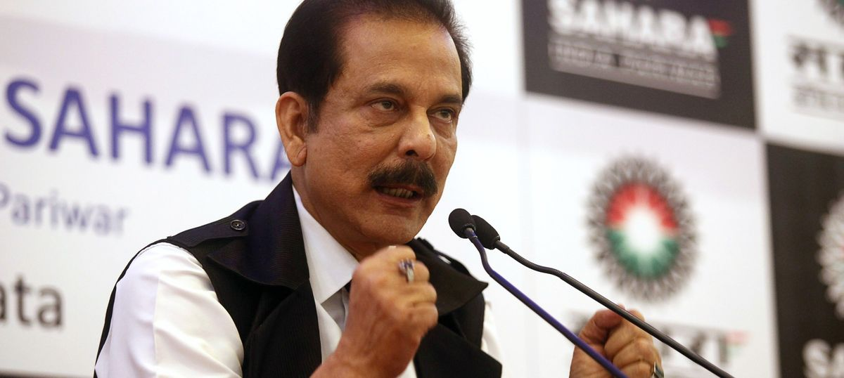 Supreme Court agrees to consider Subrata Roy's 'apology' for his lawyer's misconduct