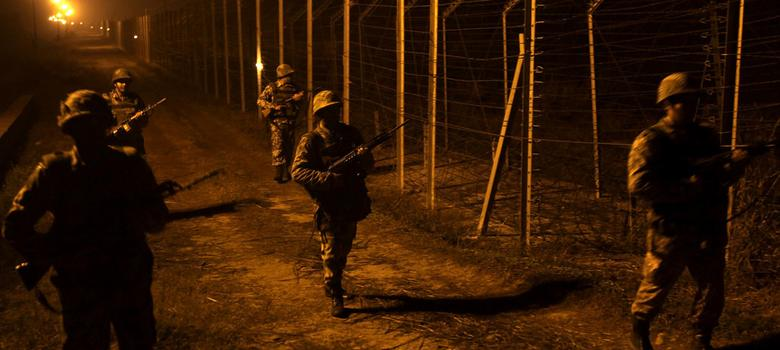 Does the army distinguish between civilian protests in the Valley and the conflict along the LoC?