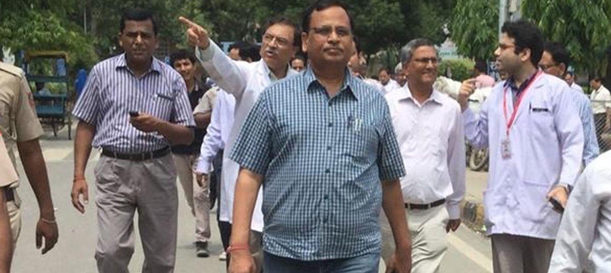 Delhi Health Minister Satyendar Jain under I-T Department radar for Rs 17-crore worth transactions