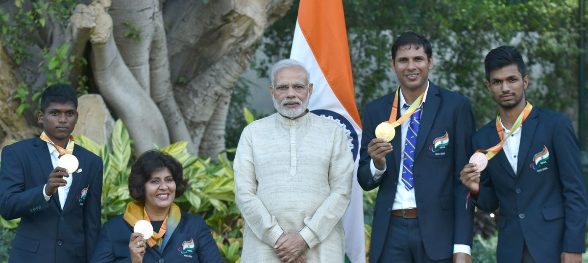 India's four Rio Paralympics medal winners are getting Rs 90 lakh in total from the Centre