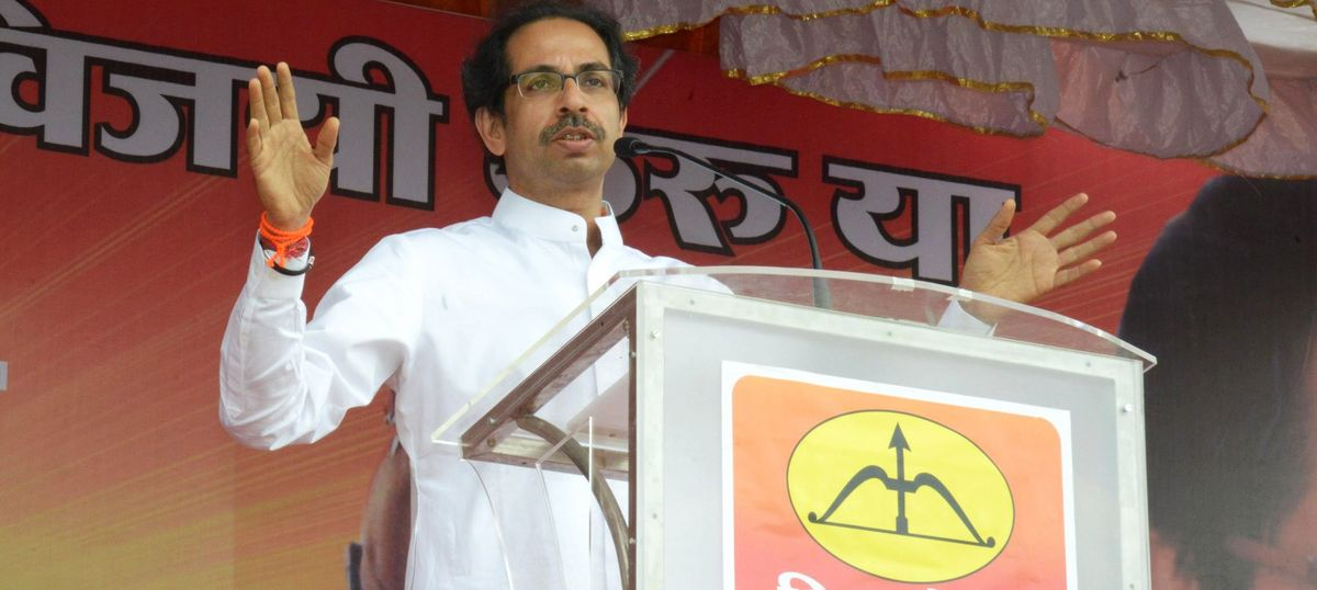 Shiv Sena chief Uddhav Thackeray apologises for Saamana cartoon that offended Marathas