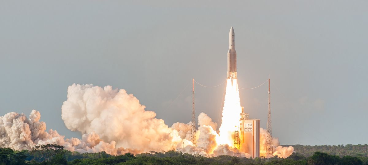 Isro's GSAT-18 successfully launched in French Guiana