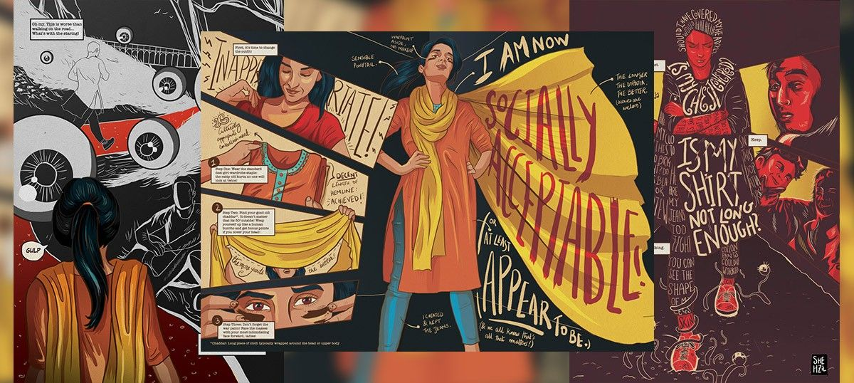 #WomenInPublicSpaces: A Pakistani artist wants women to go take a walk