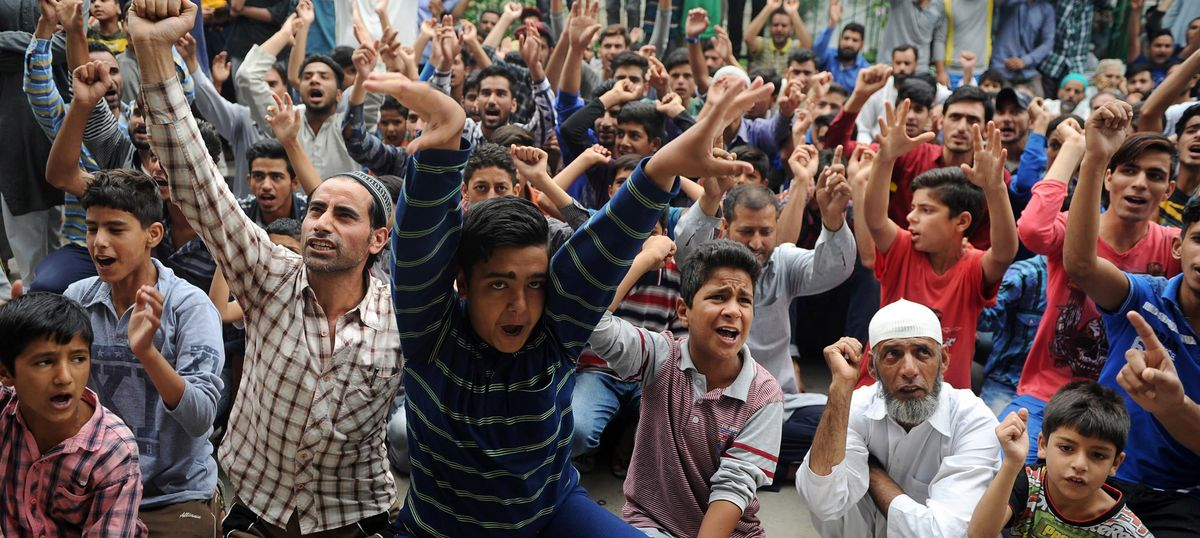 100 days of unrest in Kashmir: Curfew, pellets, shutdown and death