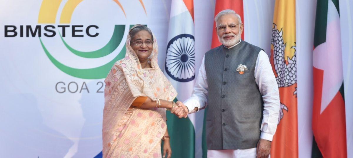Bangladesh model is a template on how to fight terrorism, Narendra Modi tells Sheikh Hasina