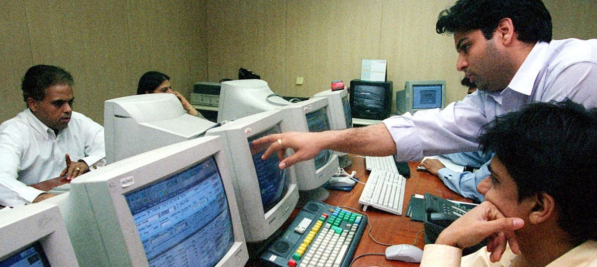 Markets drop amid profit booking by investors, a day after Sensex surged 500 points