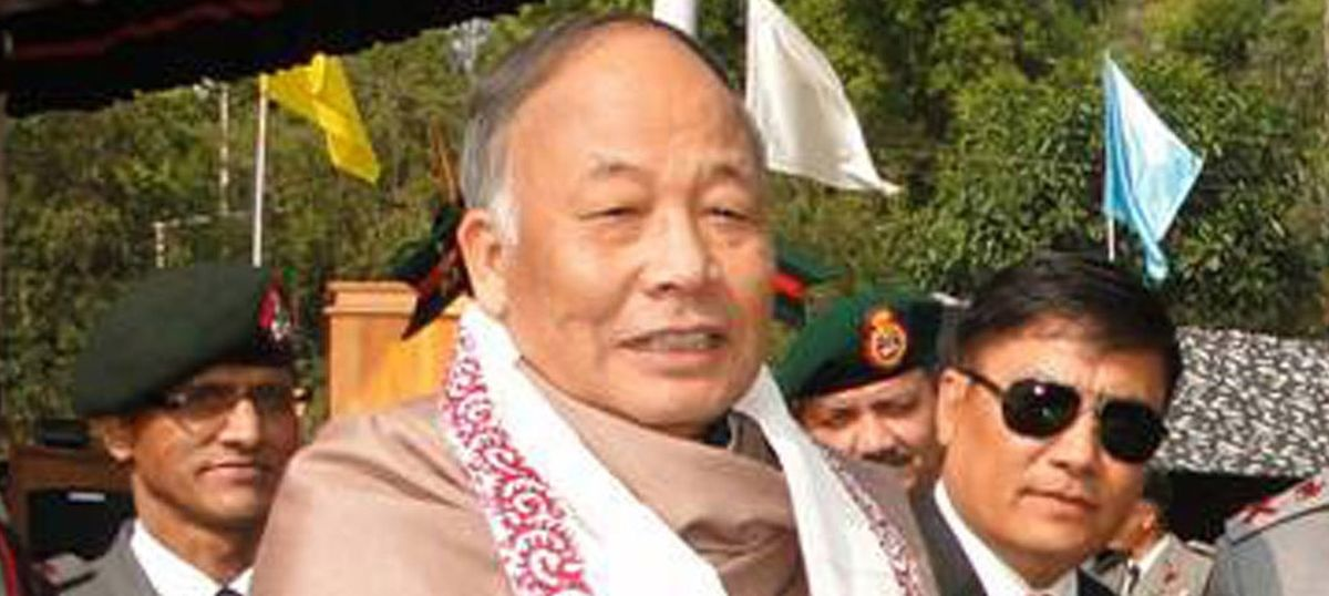 Manipur chief minister's helicopter ambushed by suspected NSCN (I-M) militants during district visit