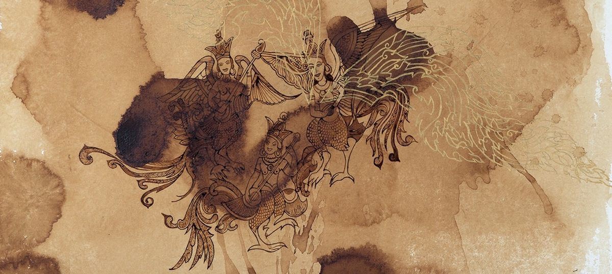 An Indian artist plumps for wildlife conservation by drawing from mythology