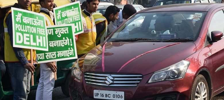 Despite two rounds of Odd-Even this year, Delhi's air is just as polluted this Diwali