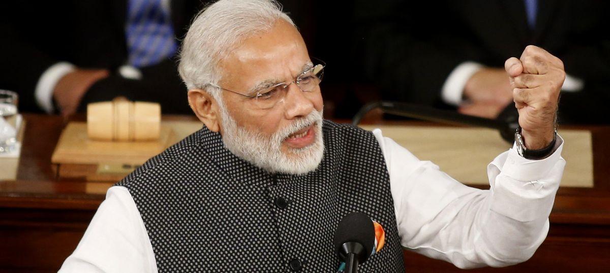 Narendra Modi takes up Indian bus driver's killing in Brisbane with Australian prime minister