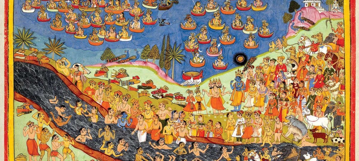 When a Hindu ruler commissioned a Muslim painter to recreate the Ramayana