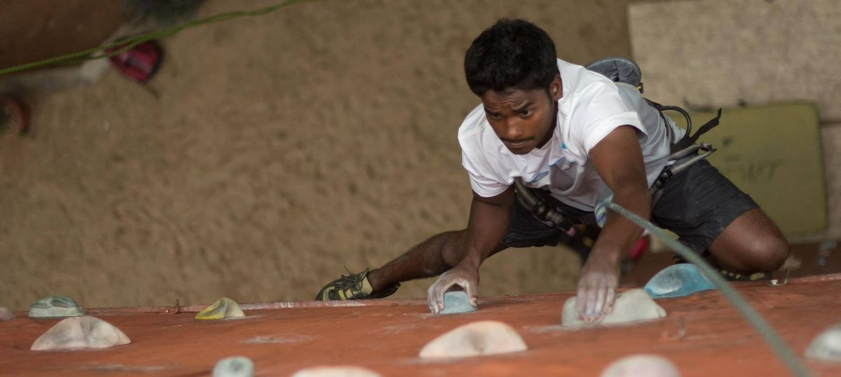 Meet Manikandan Kumar, India's champion paraclimber who's eyeing a medal at Tokyo 2020