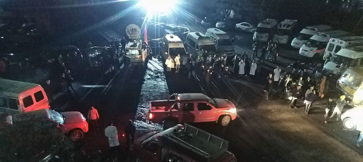 China: 33 confirmed dead in coal mine explosion