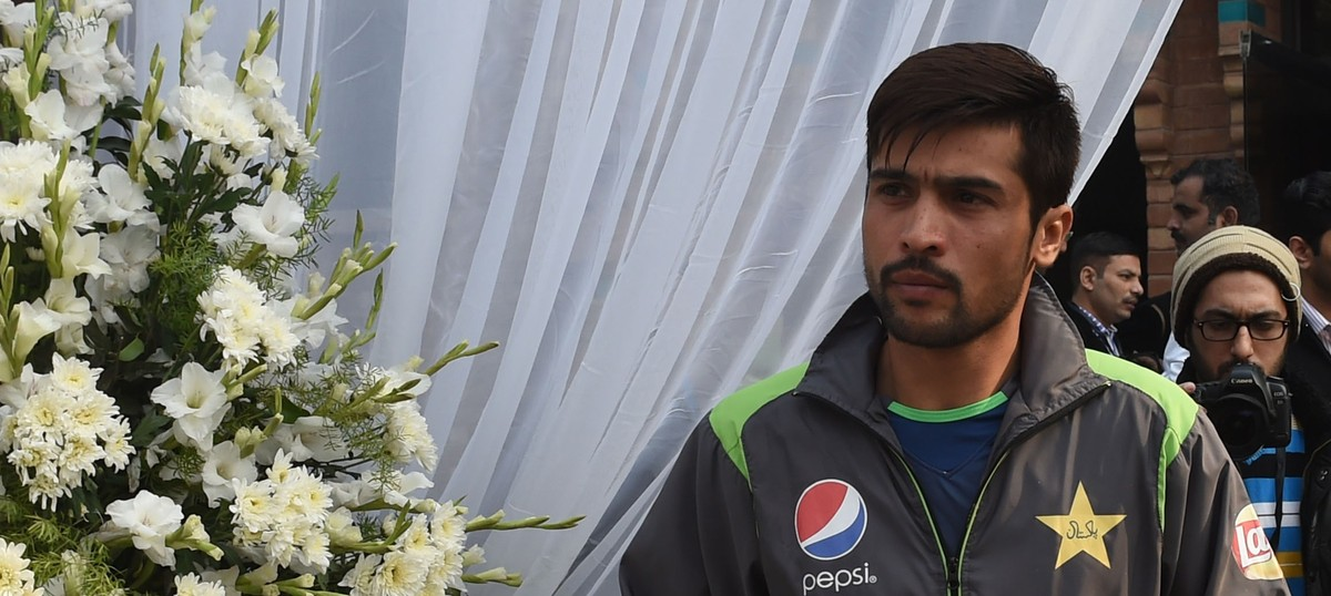 Watch: Mohammad Amir pays his tribute to Inzamam-ul-Haq with this comical run-out