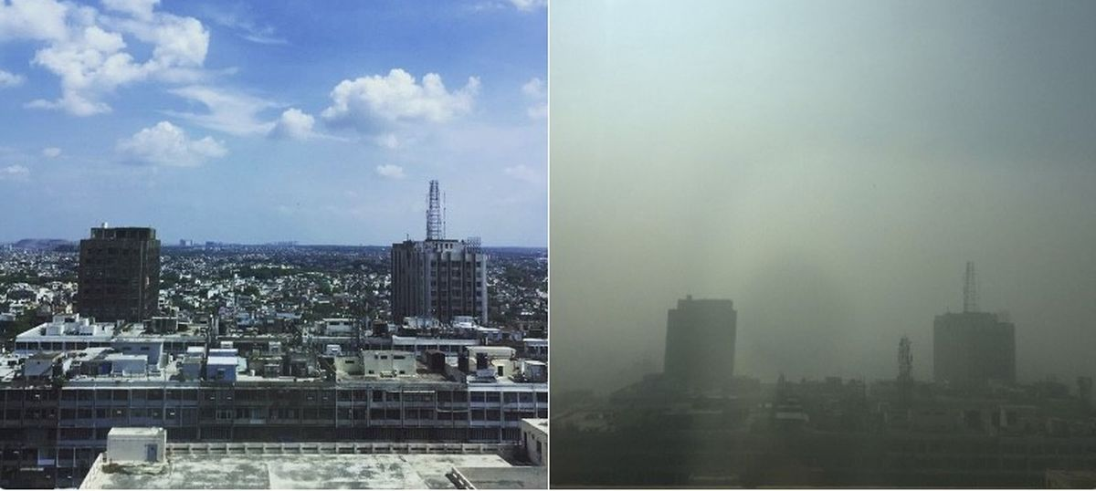 Photos: No Instagram filter can match Delhi's pollution