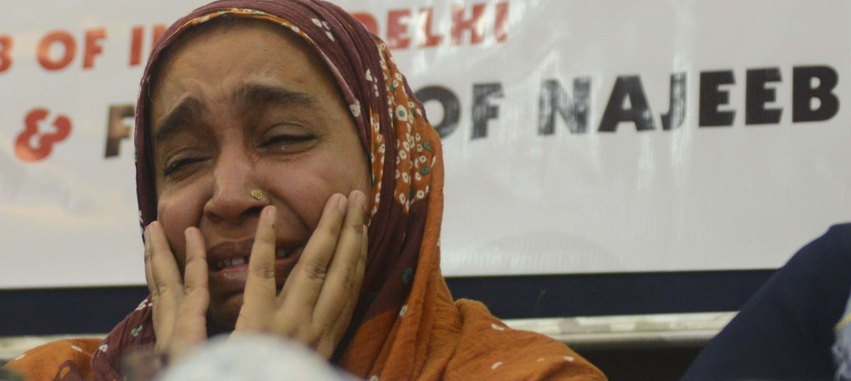 Missing JNU student's family seeks home minister's intervention