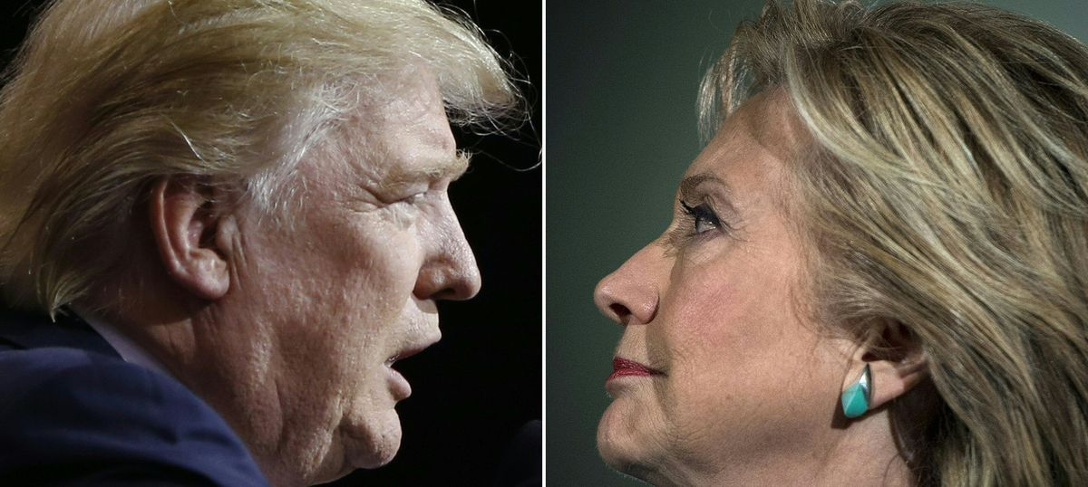 'President Donald Trump': Hillary Clinton has lost