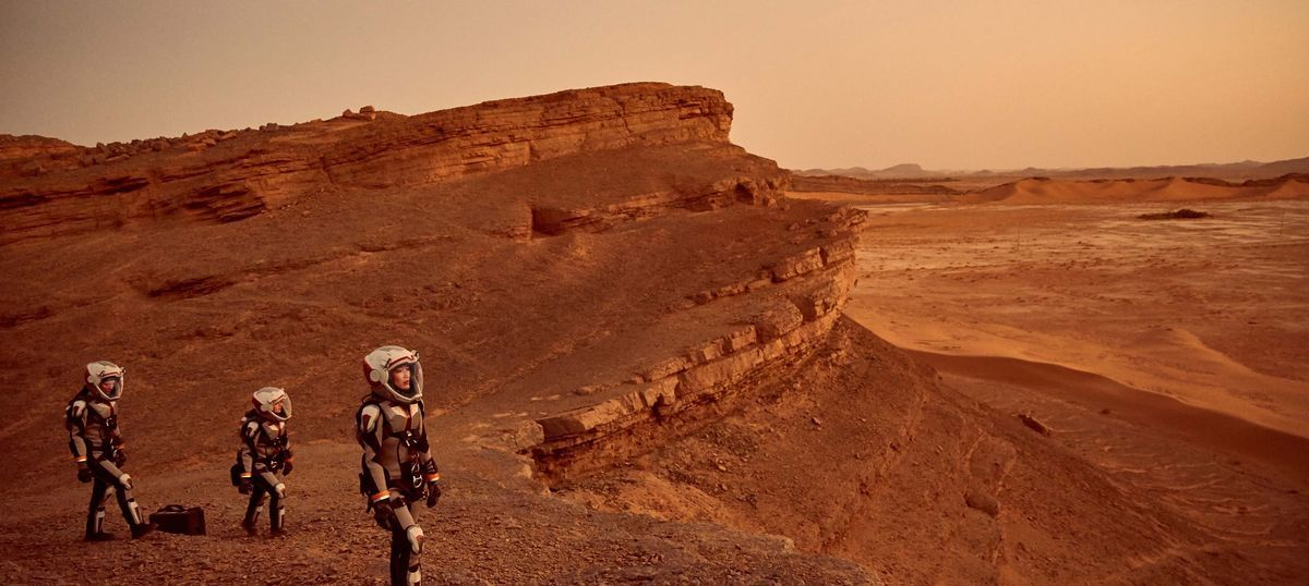 Cue the dramatic music as National Geographic launches 'MARS' show