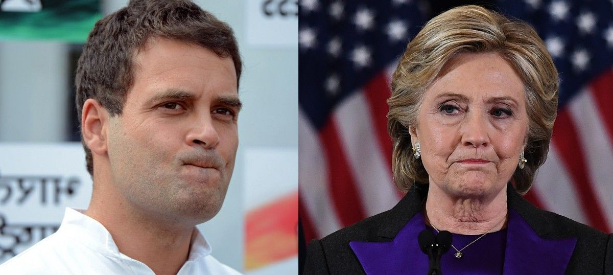 Hillary Clinton's Democratic Party is more like Rahul Gandhi's Congress than we realise