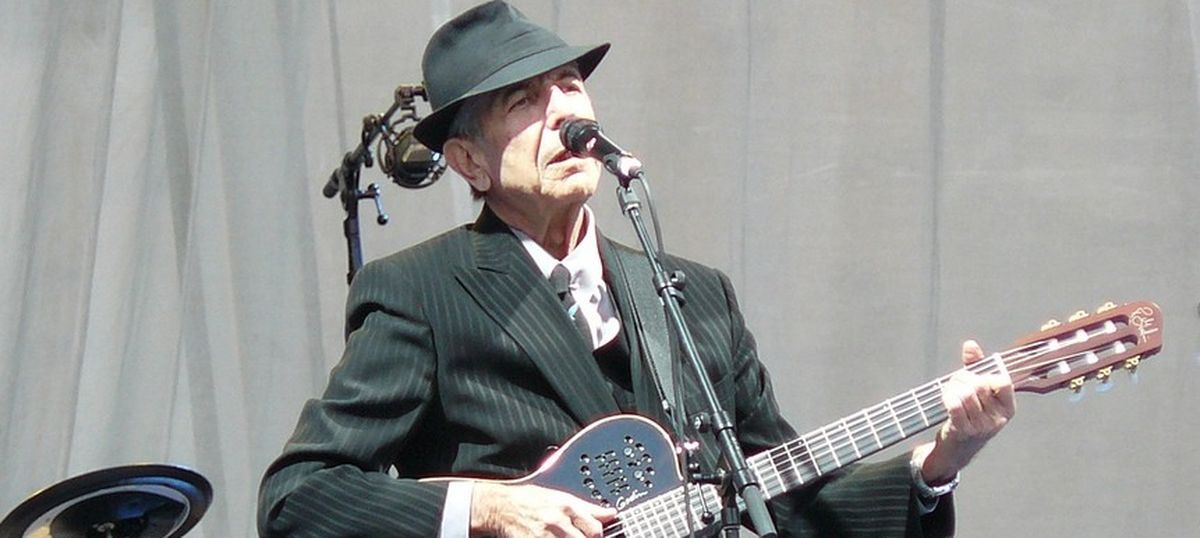 What interested Leonard Cohen was what happened between the sheets and deep in a man's soul