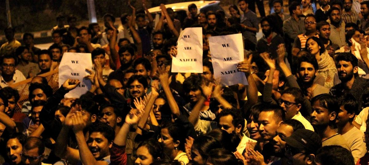 Missing JNU student case transferred to Delhi crime branch