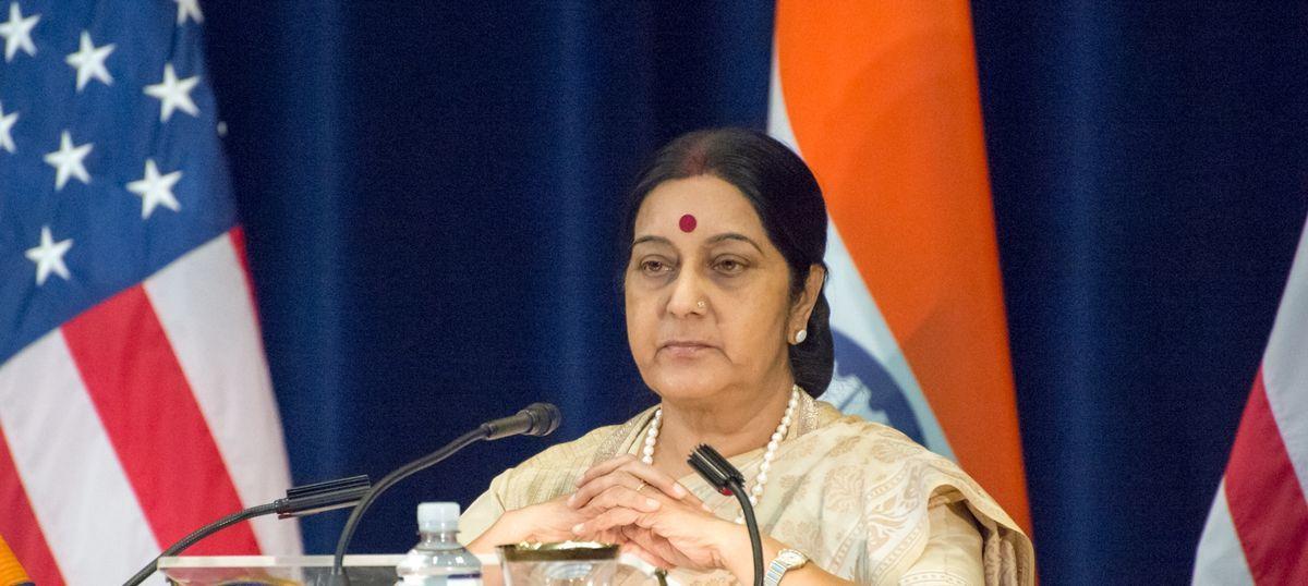 Sushma Swaraj Admitted To Delhi S Aiims For Kidney Failure