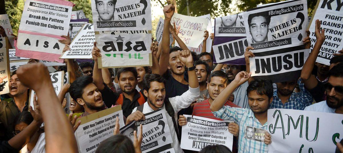 Missing JNU student: Najeeb Ahmad went to Jamia Milia Islamia after leaving his hostel, say police