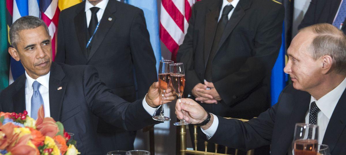 Stand up to Russia: Barack Obama advises Donald Trump