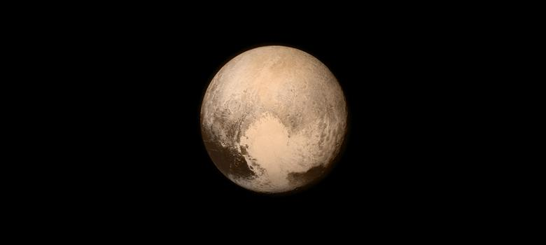 Pluto may have a large ocean beneath its icy surface