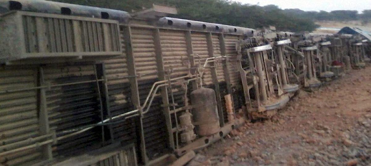 At least 12 injured as Bhatinda-Jodhpur train derails in Rajasthan
