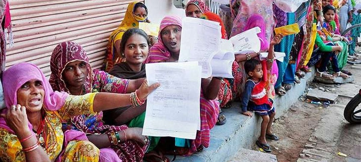 Demonetisation is a permanent transfer of wealth from the poor to the rich