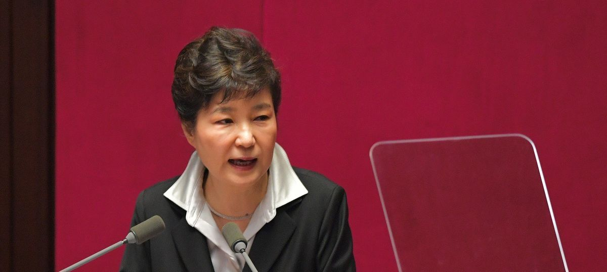 South Korean President Park Geun-hye agrees to step down, asks Parliament to plan transition