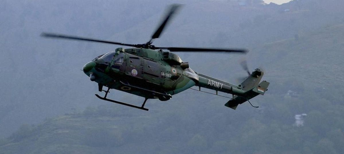 Three officers killed as Army helicopter crashes in Sukna, West Bengal
