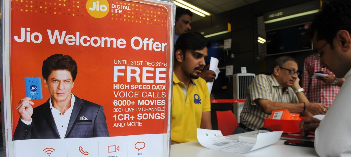 Reliance Jio will offer free data, voice and video services till March 31, says Mukesh Ambani