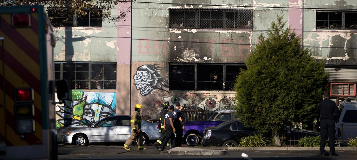 California: At least nine killed, several others missing in fire at Oakland warehouse dance party