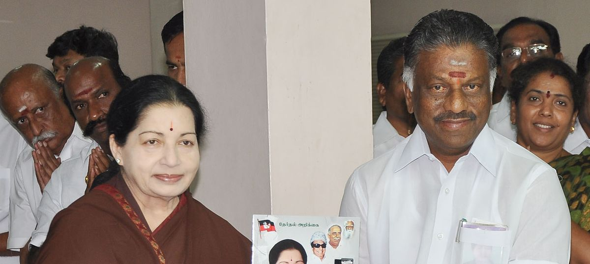 Paneerselvam has a major task: To reverse Tamil Nadu's slipping development standards