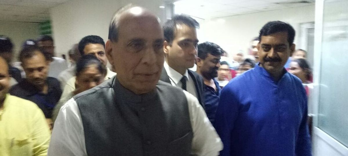 Andamans: Centre will start evacuating tourists once weather improves, says Rajnath Singh