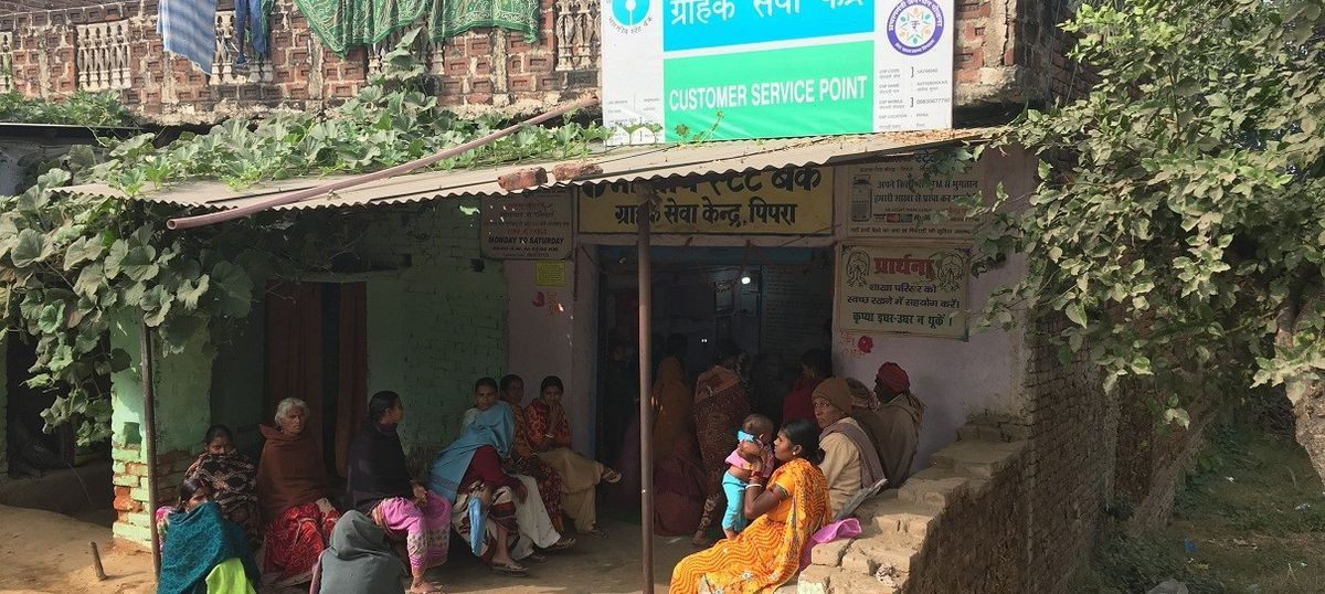 Money is trickling into the banks of Bihar – but is not being distributed evenly