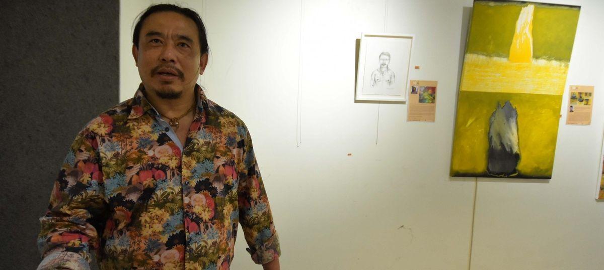 Vandalism over 'obscene' painting at Jaipur Art Summit leaves artist injured