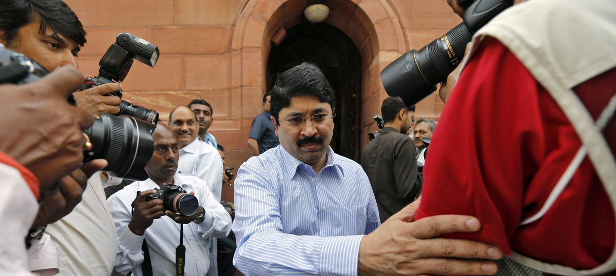CBI files chargesheet against Dayanidhi Maran, six others in illegal telephone exchange case