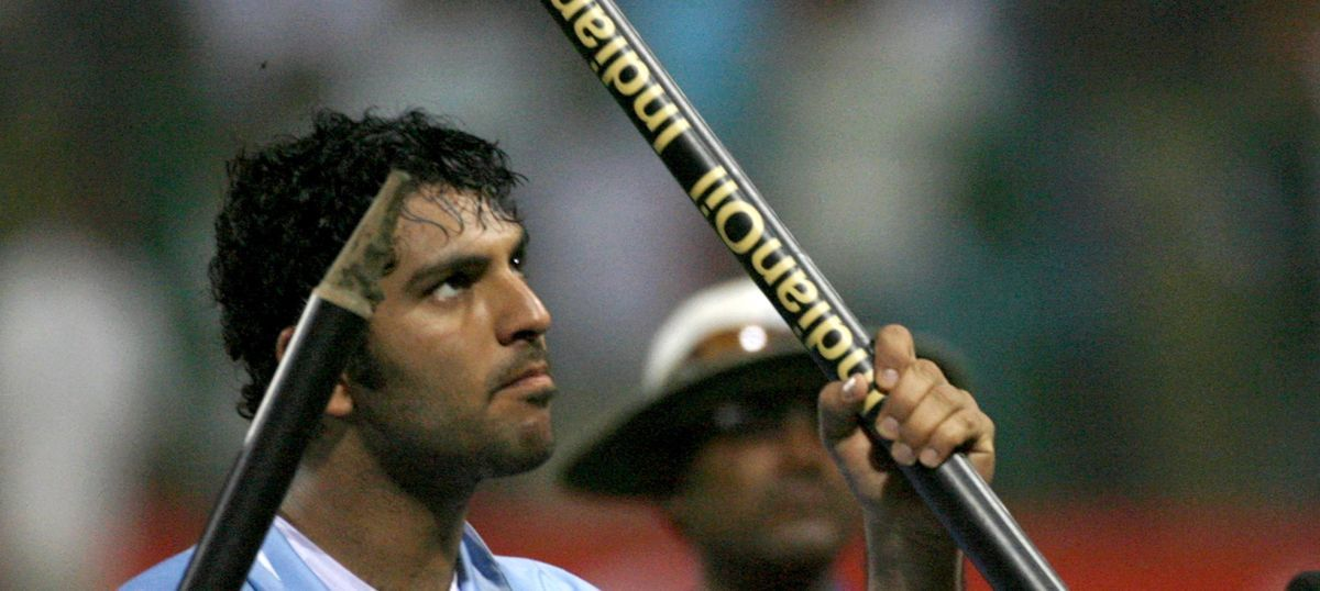 On Yuvraj Singh's 35th birthday, watch that over which just didn't seem to get over for England