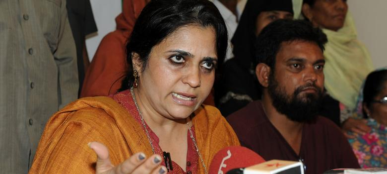 Home ministry renews foreign funding licence of Teesta Setalvad's NGO